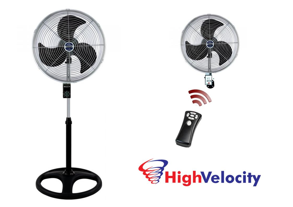 Metal High Velocity Fans