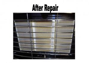 Gas Heater After Repair