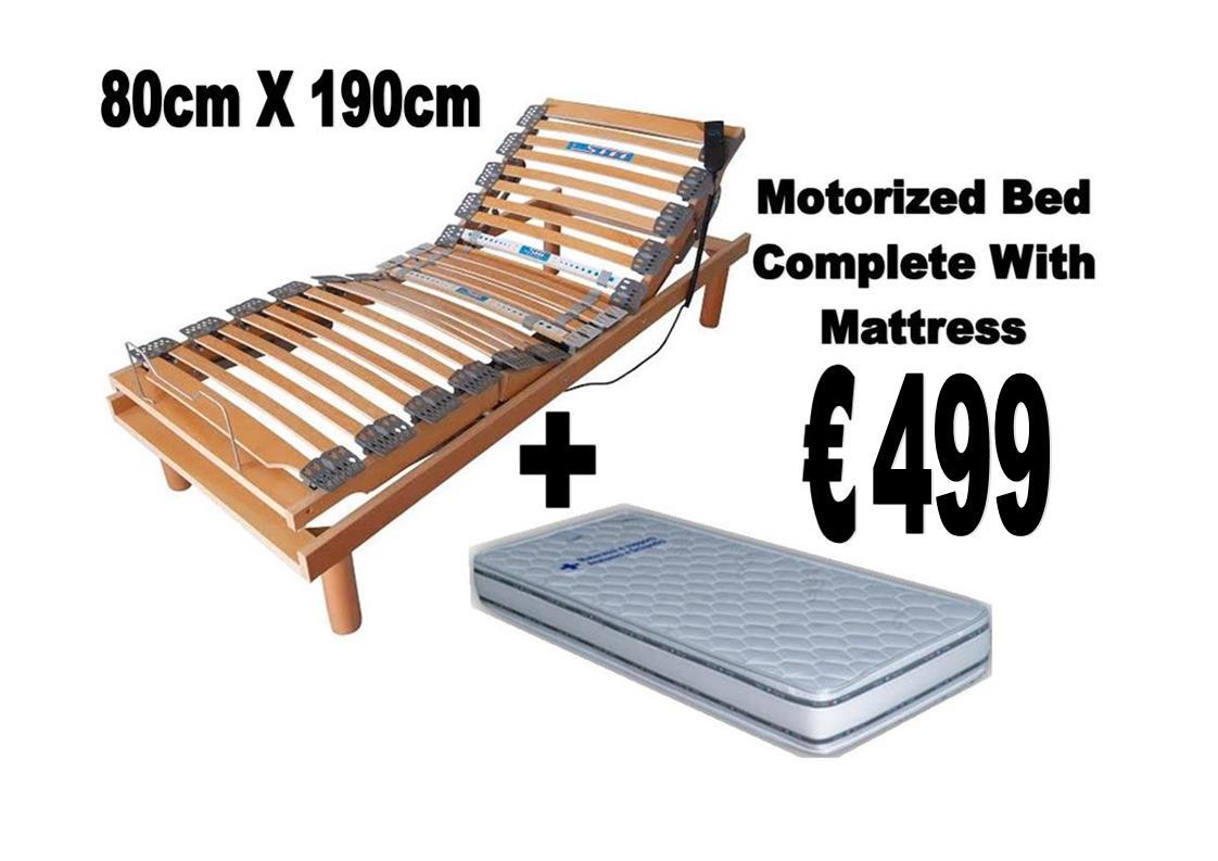 80cm X 190cm Motorized Bed Homemark